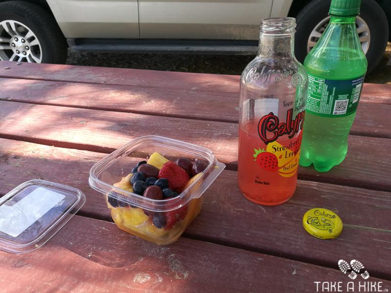 Mittagspause auf dem Campground - Furnace Creek