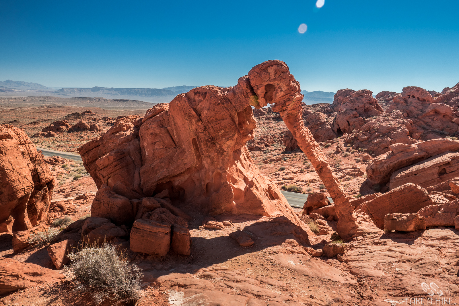 Valley Of Fire State Park - Elephant Rock