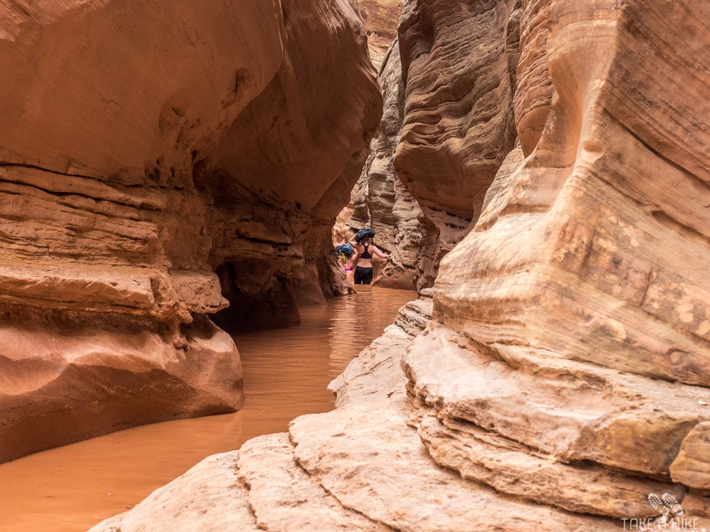 Little Wild Horse Canyon - der tiefe Pool