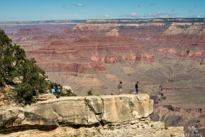 Toller Ausblick am Grand Canyon