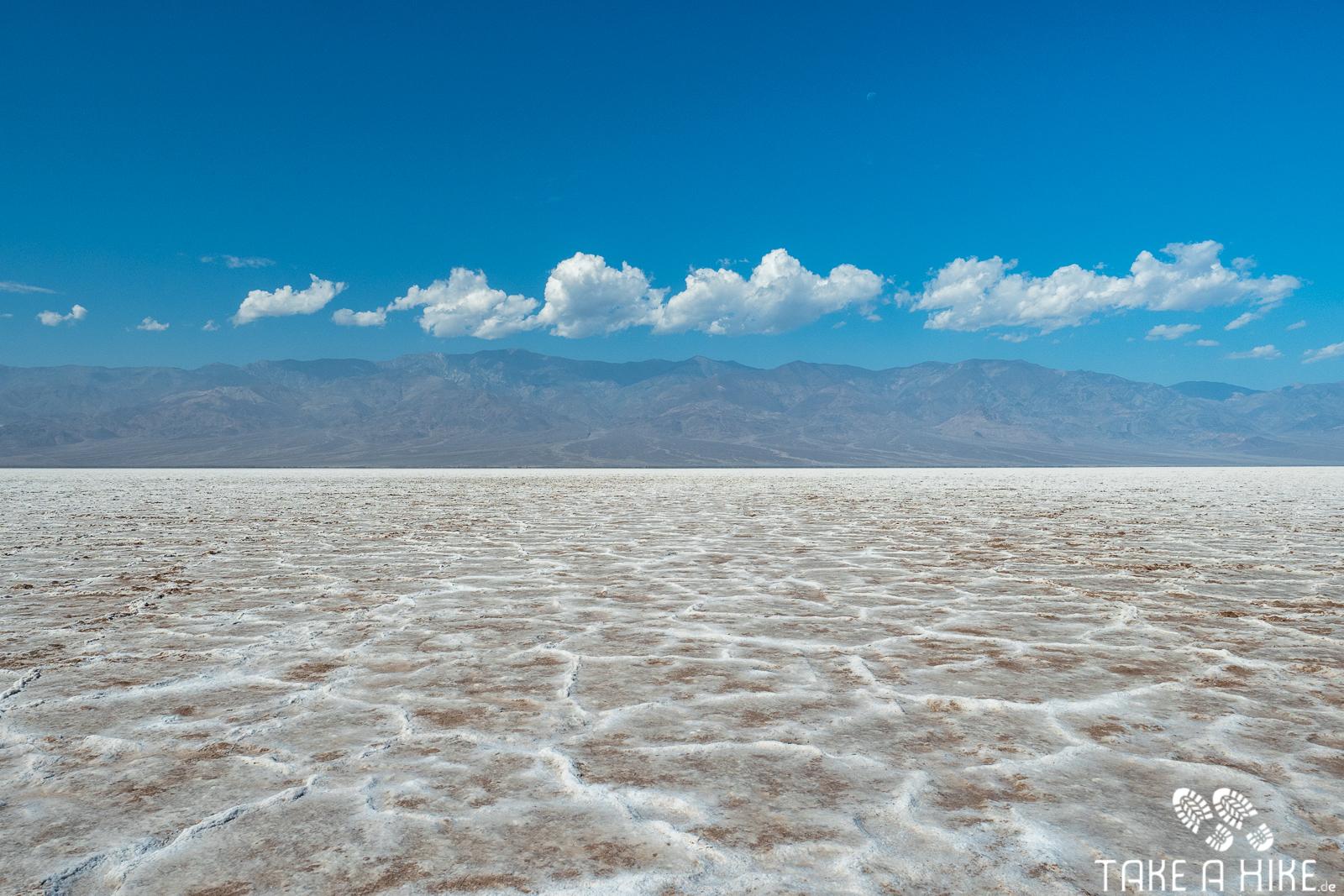 Badwater Basin - Hier drehte ich um.