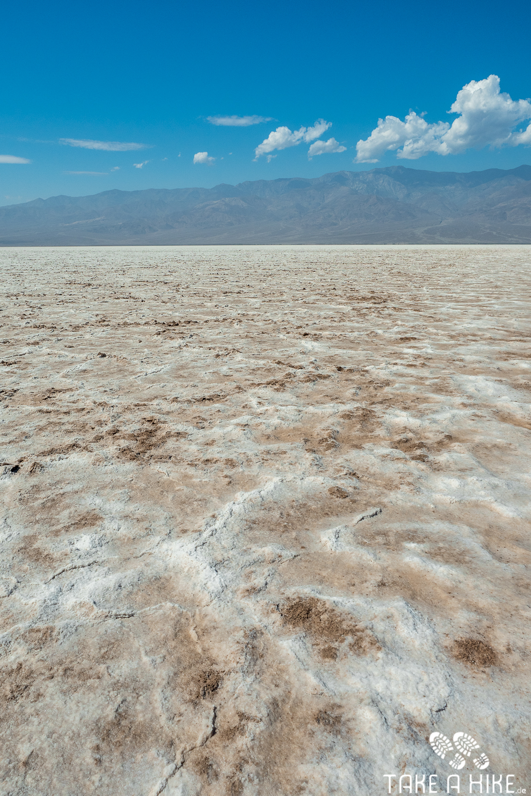 Badwater Basin - Die Salzfläche