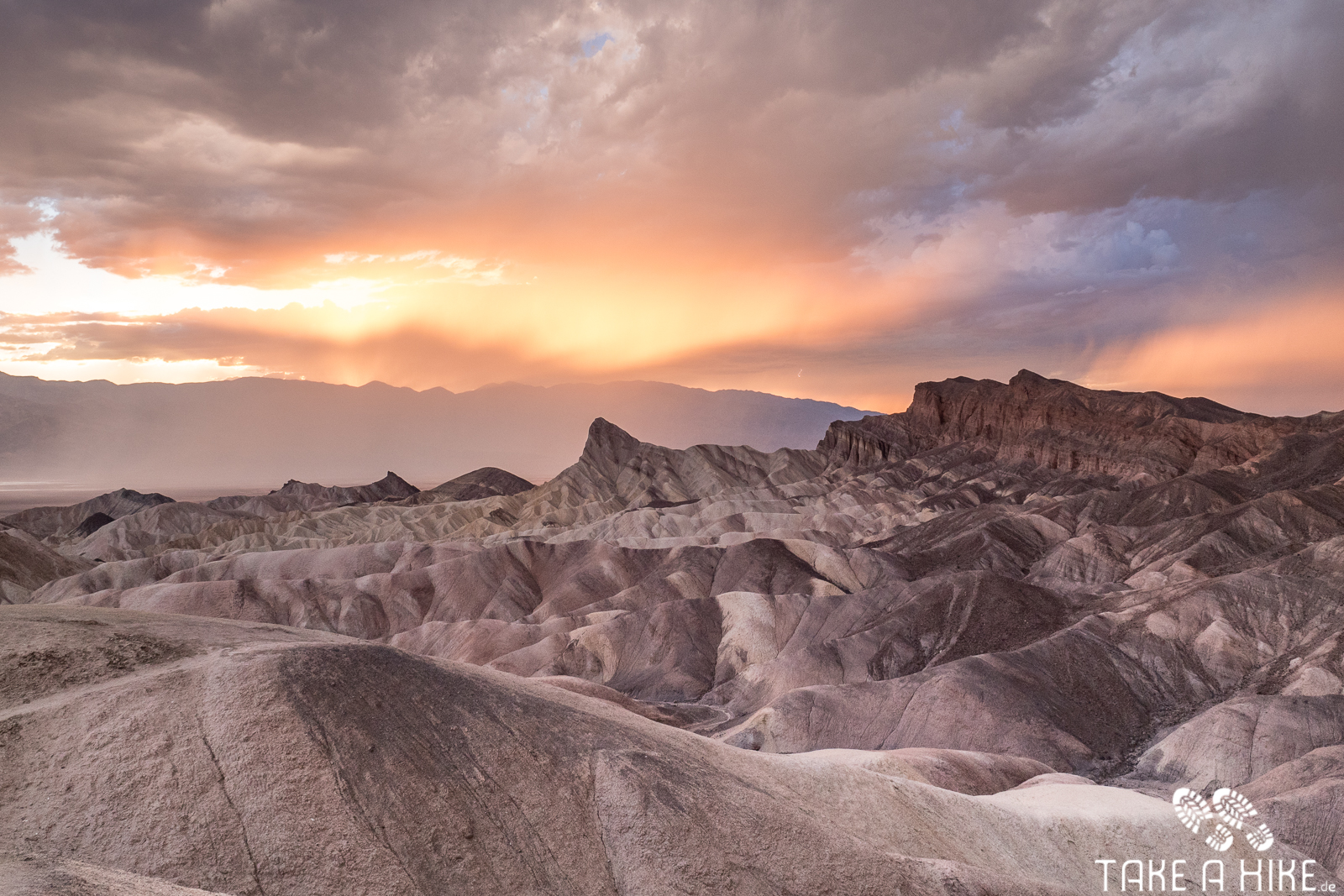 Zabriskie Point - Sonnenuntergang