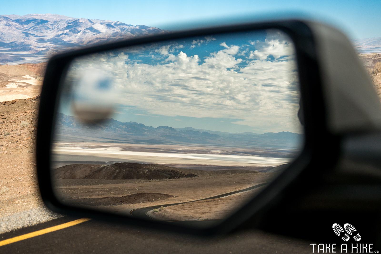 Artist Drive - ein Blick in den Seitenspiegel