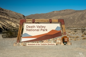 Death Valley Park Sign F8 || 1/250sek. || ISO 100 || @ 28mm