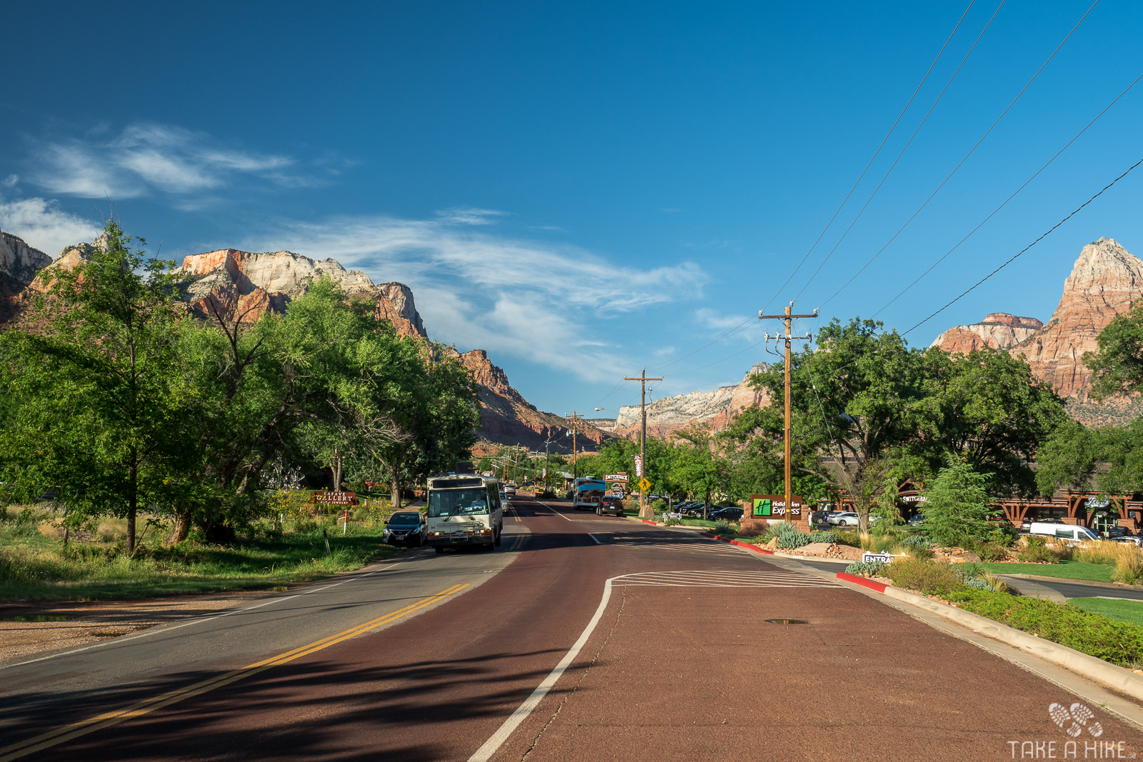 Springdale - Zion Nationalpark F8 || 1/60sek. || ISO 100 || @ 18mm