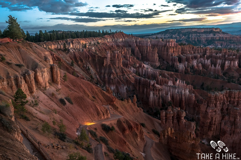 Bryce Canyon - vor Sonnenaufgang am Sunset Point