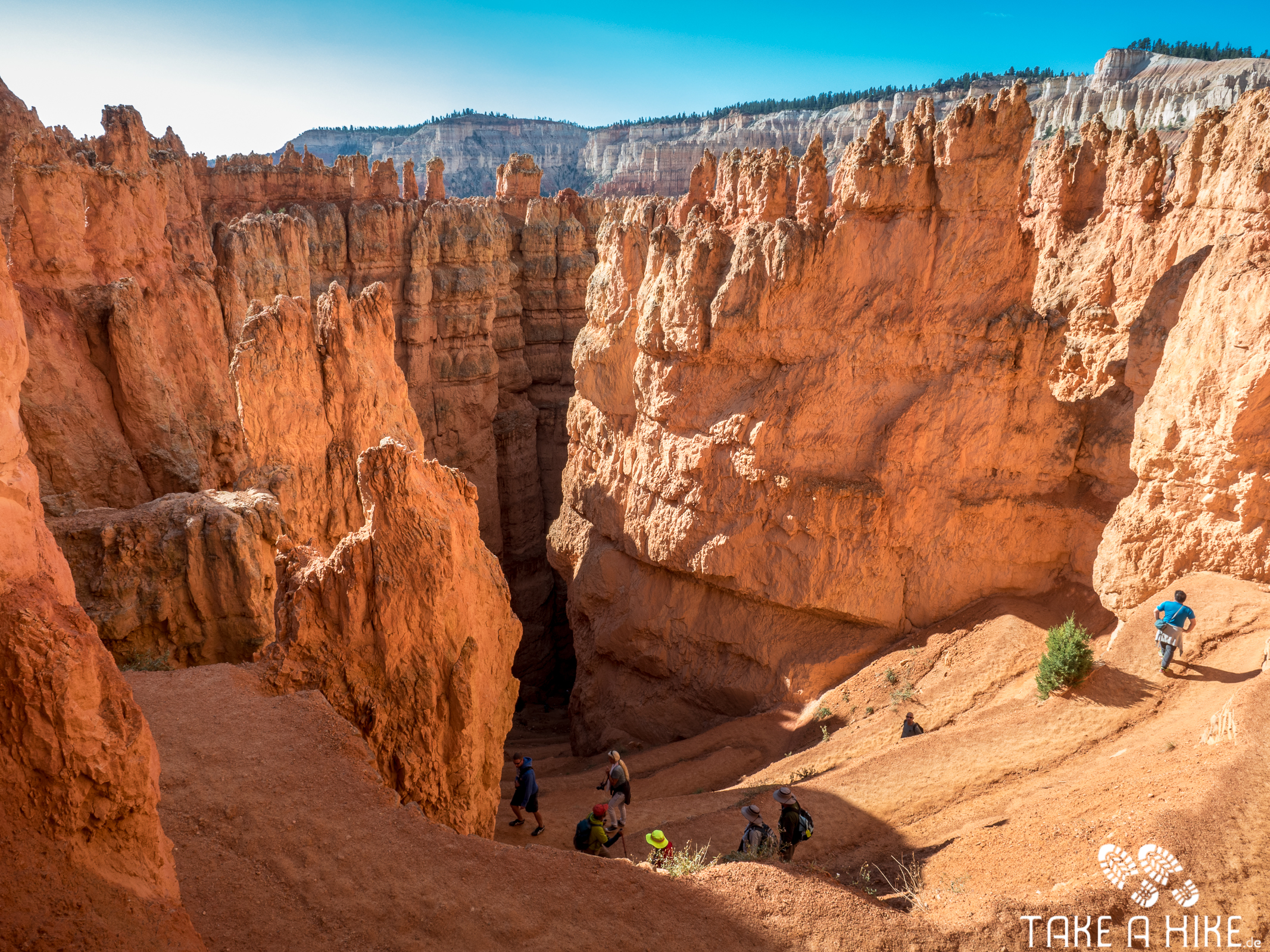 Bryce Canyon - Navajo Loop Switchbacks