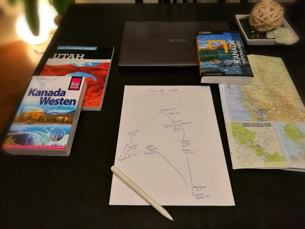 Reiseplanung Kanada 2018