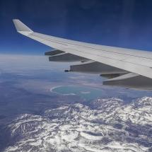 Der Flug - Mono Lake und die Sierra Nevada