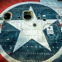 Nelson Ghost Town - das alte Flugzeugwrack