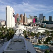 Blick aus dem Hotelzimmer - Las Vegas