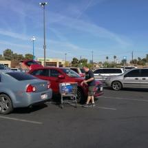 Shoppen bei Walmart
