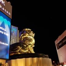 Der goldene Löwe am MGM