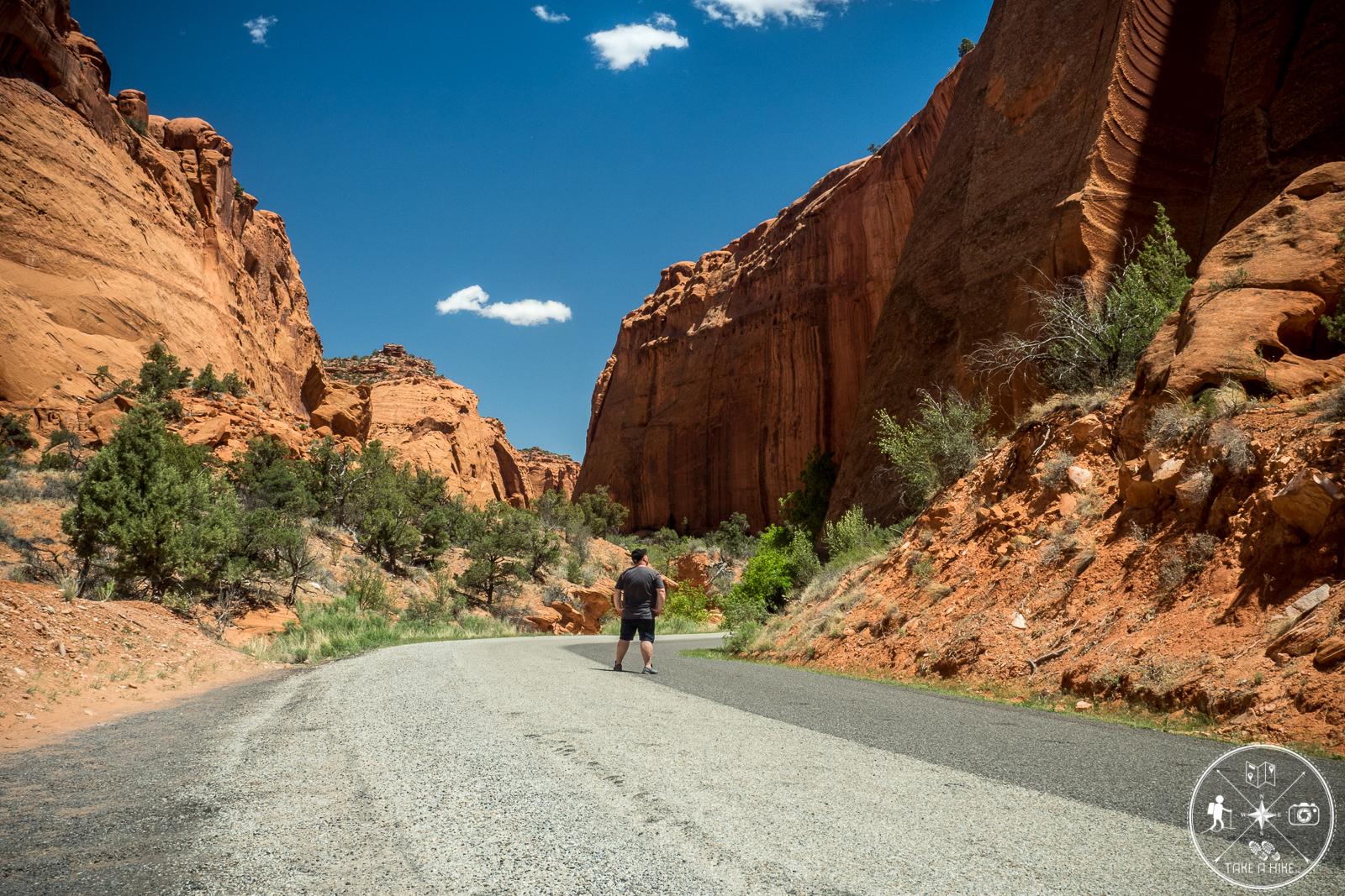Long Canyon - ein bisschen Posing muss sein