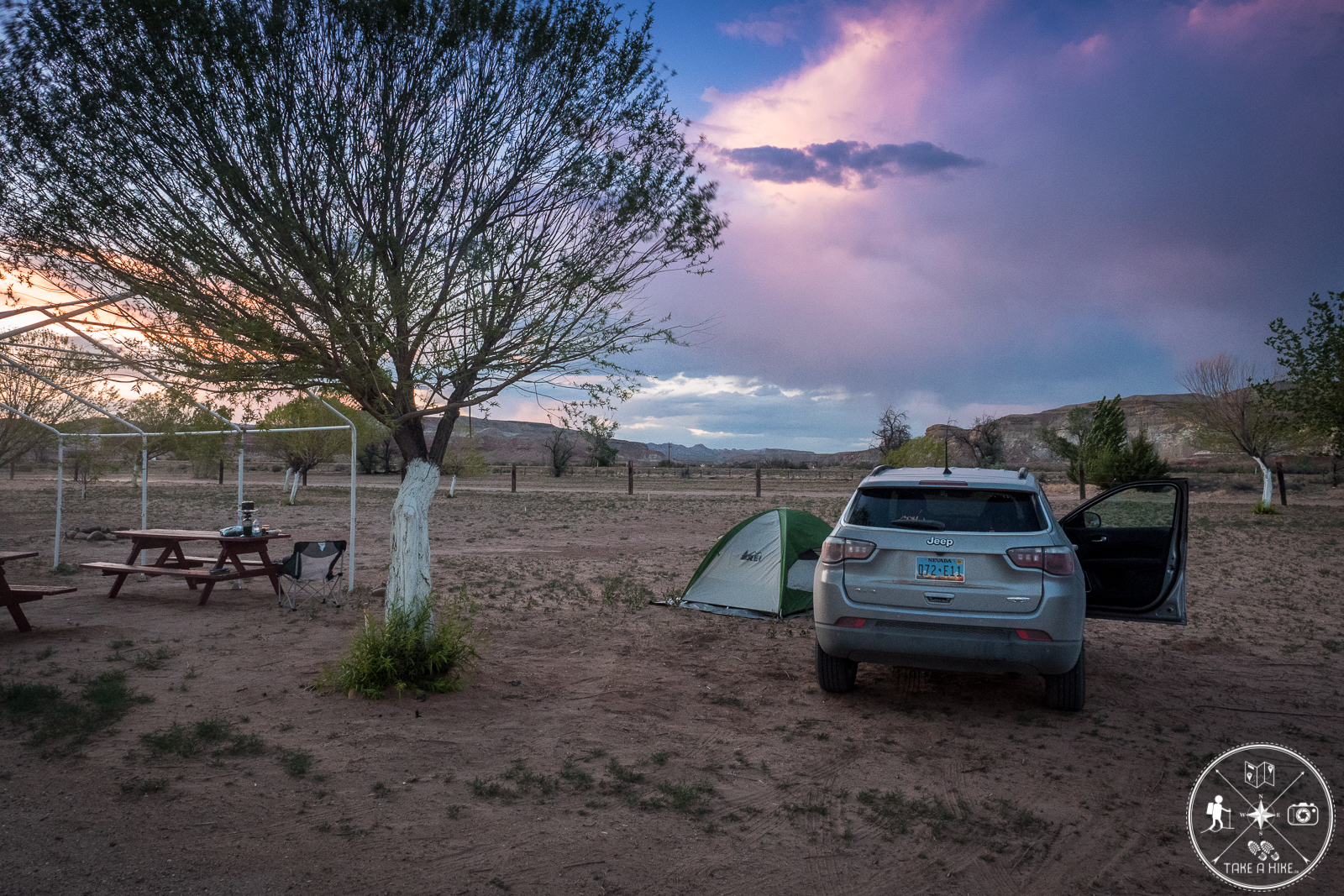 Meine Campsite - Paria River Ranch