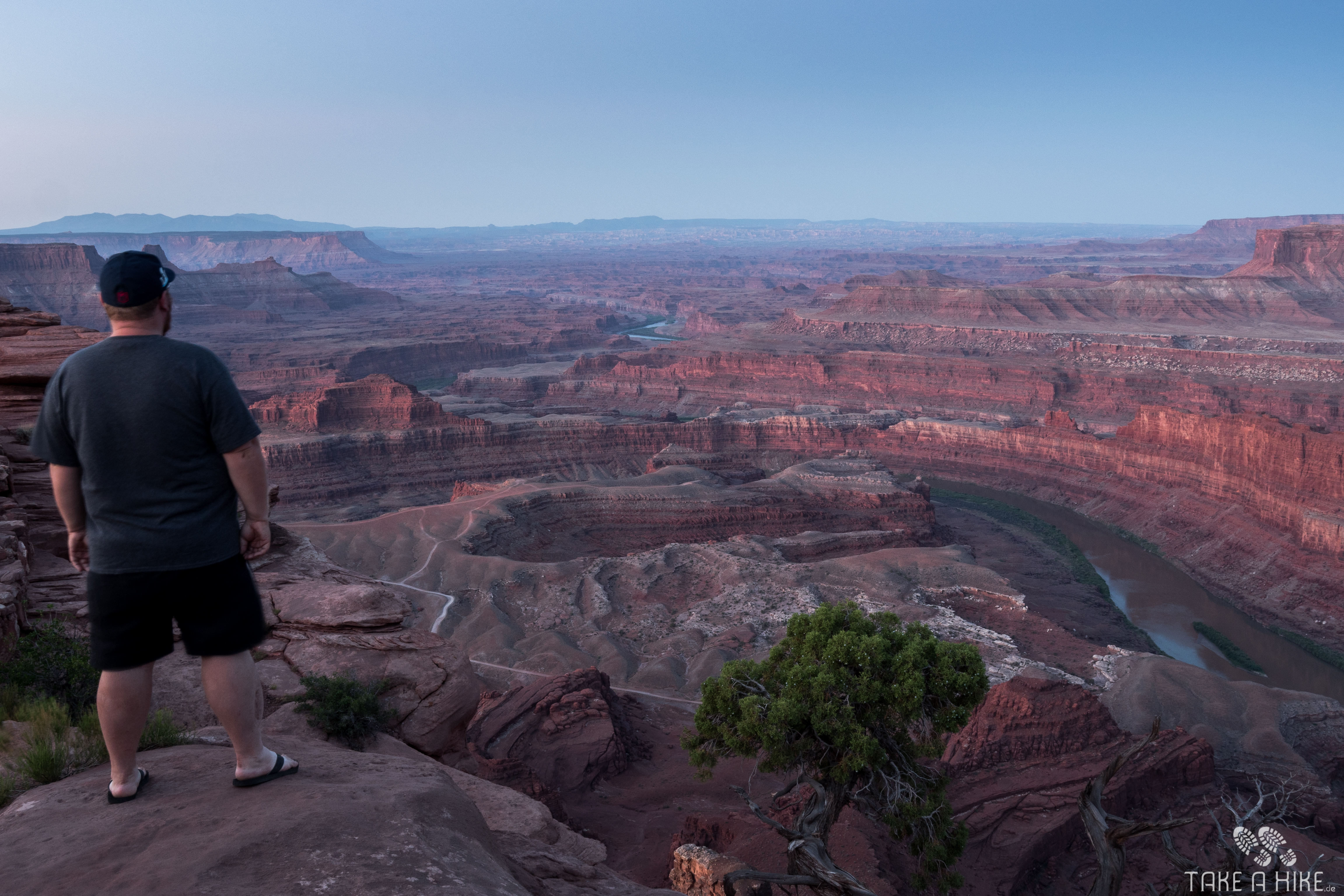 Fotoparade 01/2018: Sonnenaufgang am Dead Horse Point