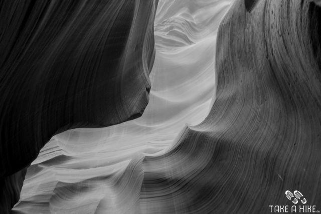 Black&White - Lower Antelope Canyon, Arizona