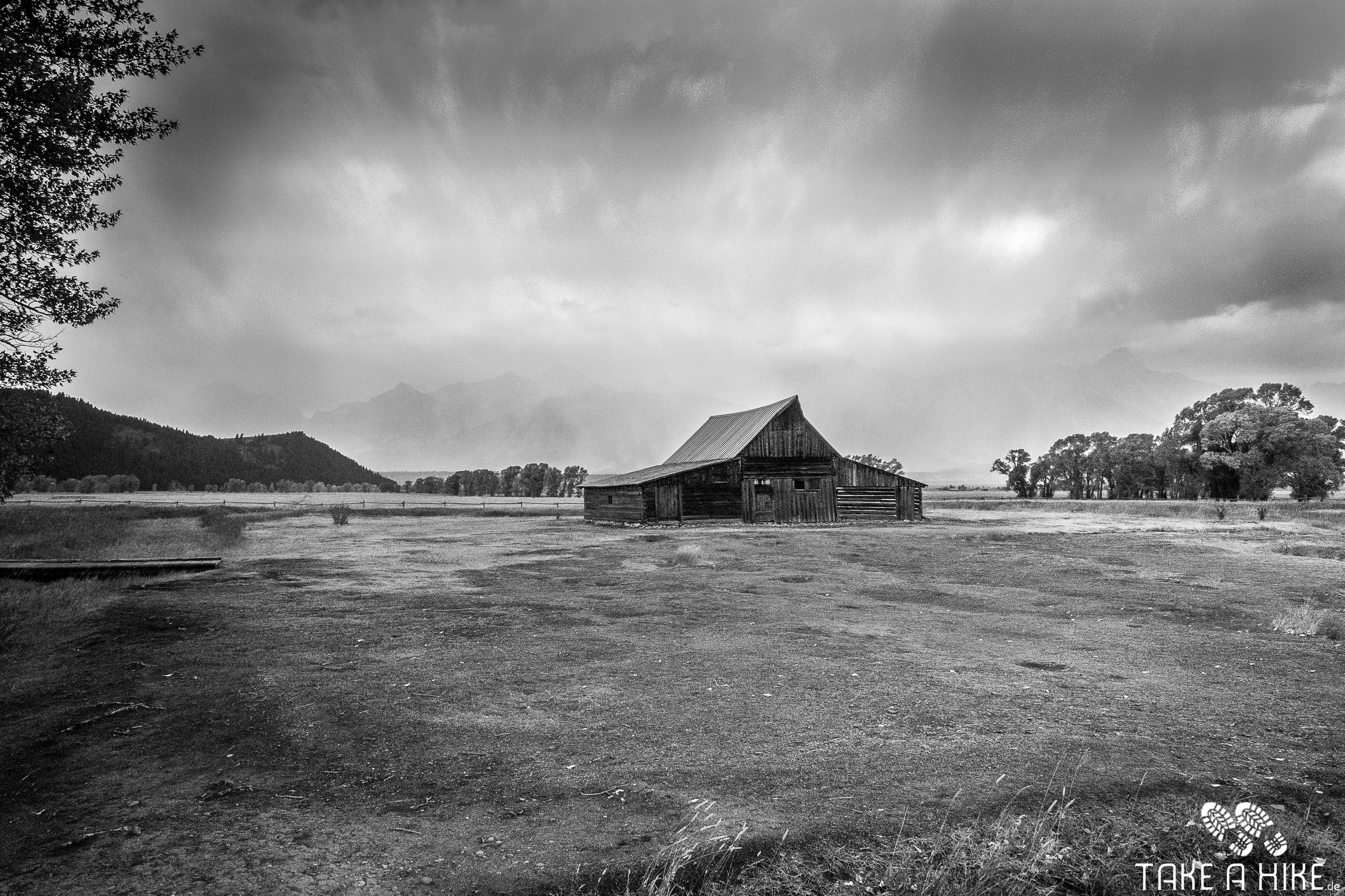 Black&White - Moulton Barn, Grand Teton NP