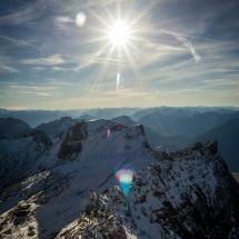 Zugspitze Schnee